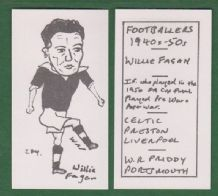 Glasgow Celtic Willie Fagan Scotland 284